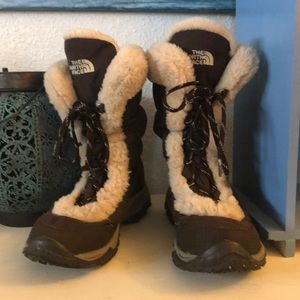 The North Face Nuptse Down Winter Boots Sz 8.5